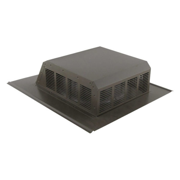 Louvered Roof Vent with Slant Back-0